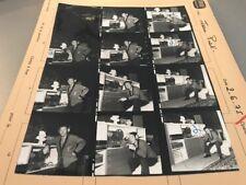 JEAN PIAT : PLANCHE CONTACT ORIGINALE DE 1975