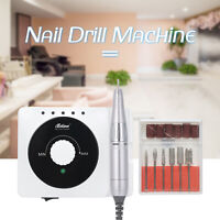 30,000RPM Electric Nail Drill File Rechargeable Cordless Manicure Machine Set