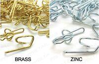 Pencil Pleat Curtain Brass & Zinc Metal Hooks, High Quality Metal Hooks