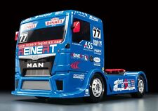 Tamiya 58642 1/14 RC TT01 Type E Chassis Team Reinert Racing Truck MAN TGS w/ESC