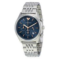 Emporio Armani Chronograph Blue Dial Mens Watch AR1974