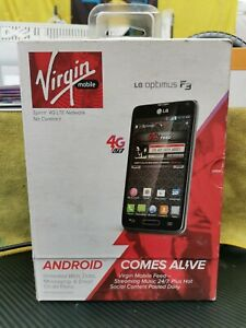 LG Optimus F3 4G LTE No-Contract Prepaid Cell Phone (Virgin Mobile)