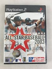 PS2 All-Star Baseball 2002, UK Pal, Brand New & Factory Sealed
