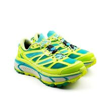 Hoka One One Mafate Speed Womens 8.5 Green Teal Blue Gray Running Sneaker Shoes