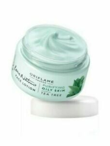 Oriflame Love Nature Mattifying  Face Lotion Cream Tea Tree 50 ml Brand New