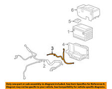 Cadillac GM OEM 09-10 STS Battery-Negative Cable 25831929