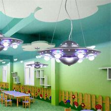 Modern Spaceship Led Ceiling Light Ufo Chandelier Pendant Lamp for Kid's Bedroom