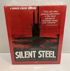 Silent Steel Big Box PC CDROM Vintage 1995 Tsunami Media - New with Box Defect