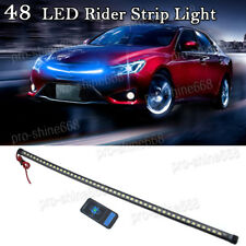"""22"""" 10K Blue 48LED Knight Rider Strip Light Under Hood Behind Grille For Acura"""