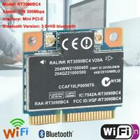 Network Card 300Mbps BT 3.0 WiFi Adapter Fast Speed Wireless Mini PCI-E for HP G