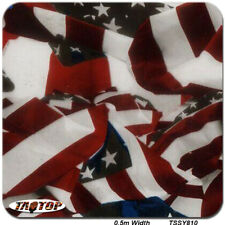 Hydro Dipping HYDROGRAPHIC FILM WATER TRANSFER PRINTING FILM Flag TSAUTOP
