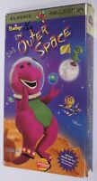 Barney In Outer Space VHS Tape Children's Video