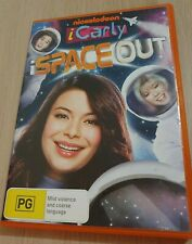 RARE Nickelodeon iCarly iSpace Out DVD 2012 Region 4 PAL