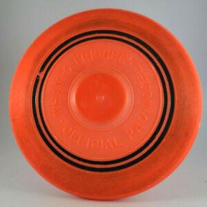Wham-O Orange Official Pro Model  Frisbee 14 mold Vintage used