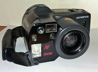 Olympus AZ-300 Super Zoom 35mm Film Camera, 38-105mm, 1:4.5-6 Made in Japan