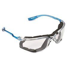 3m Virtua Ccs Safety Glasses Blue Foam Padded Frame Clear Anti Fog Lenses