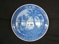 "Royal Copenhagen Osterland In the Desert Collector Plate 7"" Diameter Vgc"