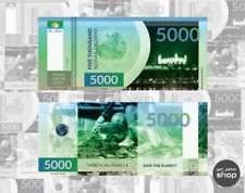 Serie 1.A 5000 korun 2019 1//10 Private Slovak World City of Love UNC