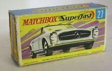 Repro Box Matchbox Superfast Nr.27 Mercedes 230 SL