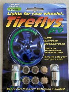 Tire Flys Tireflys Pro Green Valve Cap Stem Lights