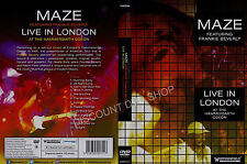 Maze Featuring Frankie Beverly Live in London at the Hammersmith Odeon. New DVD