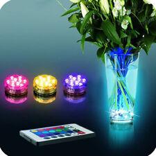 Aquarium Fish Tank Led Rgb Light Lamp Lighting Submersible vase decorations New