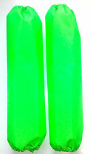 Shock Protector Covers Ski-Doo Bombadier BRP Neon Green Snowmobile Sled Set 2