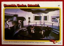 STAR TREK - MOVIE - Card #47 - STARSHIP UNDER ATTACK - TOPPS 1979