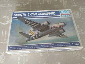 B-26 Marauder Esci Ertl 1/48 - new!
