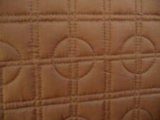 """New Simply Vera Vera Wang """"Plaza Suite Linen"""" Brown Quilted Coverlet FULL QUEEN"""