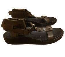 Balenciaga Designer Galidator Khaki Sandals Size 40.5 Italian
