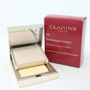 Clarins Everlasting Foundation Compact  0.3oz/10g New With Box