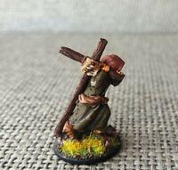 SAGA Painted 28mm Anglo-Saxon Priest Cleric Irish Enlightened Figure Miniature