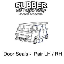 1961 - 1967 Ford Econoline Van Front Door Seals - pair