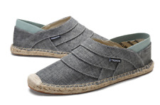 Mens Casual Espadrilles Flat Slip On Canvas Loafers Breathable Shoes Summer New