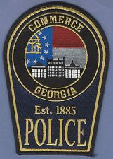 COMMERCE GEORGIA POLICE TACTICAL PATCH