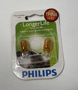 NEW Philips BC9668 194 NA Automotive 2-Pack 194NALLB2 Bulb