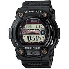 Casio G-Shock Mens Wrist Watch Solar Automatic Digital Black Resin Band Casual
