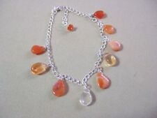 Fire Opals Sterling Silver Fine Bracelets