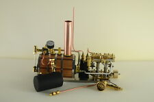 Two-cylinder steam engine Live Steam with Boilerp
