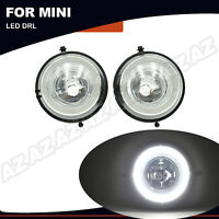 2X Direct Fit White LED Daytime Running Lights Lamps Assy For Gen2 MINI Cooper