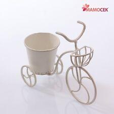 Vasi cestini e fioriere bianco di metallo per piante ebay for Portavaso pensile