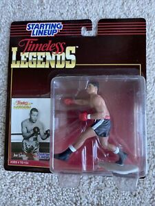1995 JOE LOUIS TIMELESS LEGENDS KENNER STARTING LINEUP FIGURE & CARD