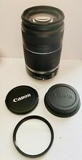 Canon EF-S 55-250mm f/4-5.6 IS Image Stabilizer Telephoto Zoom Lens Excellent