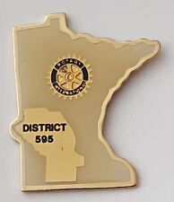 Rotary International district 595 lapel pin badge