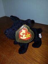 Ty Beanie Baby Scottie Dog Retired and RARE with Errors!!