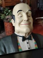 """Vintage 1999 Bombay Company Henri The Butler Statue 33"""" Tall - AMAZING Condition"""