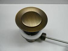 Ablaufgarnitur Bronze, Ablaufventil, Excenter, Waschtisch, Waschbecken
