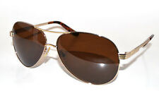 Guess Mens aviator  Sunglasses GU 6661 Gld 1 Gold New  w Pouch NEW !