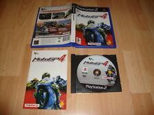 MOTOGP4 MOTO GP 4 CARRERAS DE MOTOS DE NAMCO PARA LA SONY PS2 USADO COMPLETO
